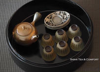 黑漆沉金茶具盒 Black Lacquer  High Grade Tea Ware Box