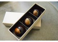 """『""""ate"""" chocolat』 黒にんにく×苺×ポルトワイン 3P BOX"""