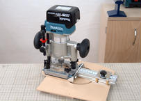 Extendable Circle Cutting Router Jig