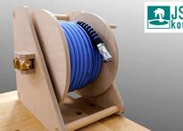 [Plan] Hand Crank Wooden Air Hose Reel