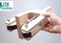 Wooden edge clamp