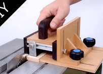 [Plan]Safety Hand Push Block for table saw