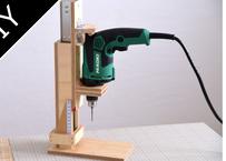 [Plan]Simple drill press ~ シンプルなドリルプレスの設計図