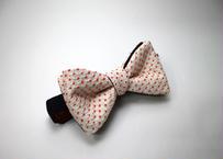 蝶ネクタイ KIMONO fabric 総絞り染 上京蝶帯 #521