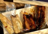 お中元ギフトにもお勧め!・お酒がすすむ!白焼きと鰻のふっくら煮の贅沢セット