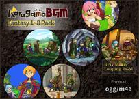 Fantasy Music vol.1-8 Pack