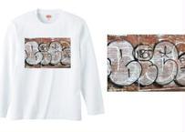 川本真琴撮影 ニューヨークTシャツ(長袖)ブラウン