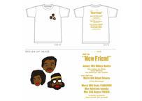 川本真琴作画 ワンマンツアー2020「新しい友達」 オフィシャル Tシャツ
