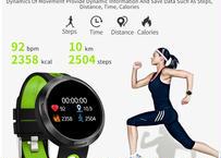 スマートウォッチ 腕時計 フィットネス トラッカー 男性 血圧 心拍数 水泳 スポーツ 女性 多言語 腕時計 android ios
