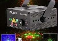 ステージライト 演出 LEDレーザー 舞台照明 5レンズ 96パターン プロジェクターショー用 ディスコ パーティー ライト