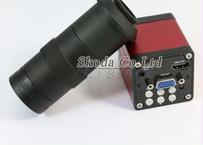 ビデオ顕微鏡カメラ 高速60F/S 13MP HD業界 デジタルビデオカメラ ビデオ出力 マウントレンズ