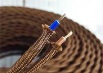 100m×1巻 アンティーク風ケーブル レトロ ビンテージ調コード 0.75x2c 700Wまで 色選択可能