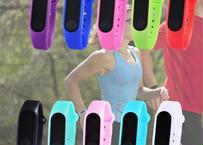 生活防水 スポーツデジタル 時計 LED フィットネス レディース リストバンド 電子時計