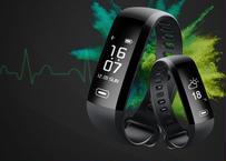 Tezer R5MAX スマート腕時計 インテリジェント 血圧 心拍 血液 酸素 SMS APP メッセージ プッシュ通知