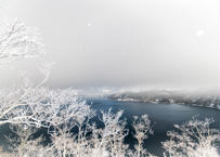 【№29】真夜中の摩周湖に咲く霧氷①