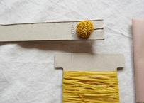 つぶつぶ飾りキット yellow