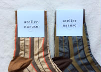 「mon oncle」ソックス / atelier naruse