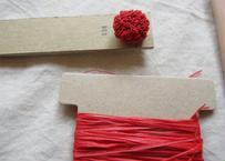 つぶつぶ飾りキット red