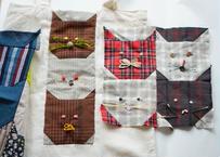 猫のパッチワークキット / SANKAKU QUILT