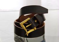 《HORWEEN CHROMEXCEL》ホーウィンクロムエクセル ファイヤーマンバックル/ Leather Belt 35mm