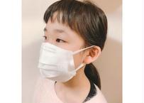 不織布マスク用マスクカバー 白レースver.  小さめサイズ(K)