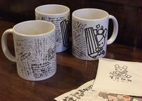 【筆談Labo.】☆特典付き☆筆談マグカップ&筆談珈琲BOX(マグ1、珈琲3柄×2、麻袋1)