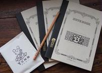【NEW】オリジナル筆談ノート3冊セット(筆談珈琲・鉛筆付き・送料込み)