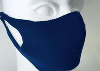 柔らかコットン洗える 3Dニットマスク (フリー男女兼用)<日本製>《数量限定モデル》ネイビー