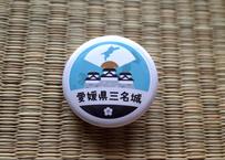 缶バッジ【愛媛県三名城】