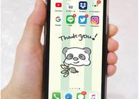 ⦅5月31日まで販売中!⦆世界に1つの「スマートフォンホーム画面」をデザイン!
