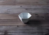 【atelier七緒】六角小鉢 白磁