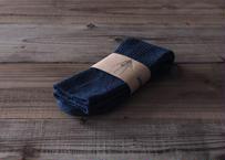 【saredo】靴下「Tatou」  BLUE(デニム)
