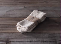 【saredo】靴下「Tatou」 KINARI(生成り)