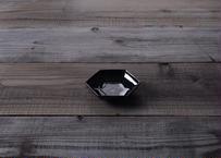 【atelier七緒】六角小皿 飴釉