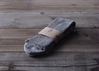 【saredo】靴下「Tatou」  KUMO(灰)