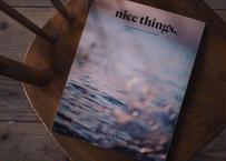 雑誌『nice things.』 issue64