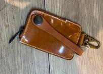 Leather Key Holder キャメル