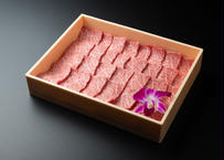 大山黒牛 霜降り肉の焼肉セット