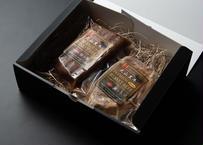 大山黒牛 サーロインと赤身の食べ比べセット  300g×2個