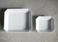 1616/arita japn TY Square Bowl220 White