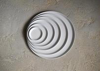 1616/arita japan TY RoundPlate280 Gray