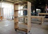 Wooden open rack