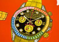スイスの腕時計 ステッカーポスター