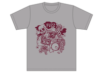 【支援価格】NEW FUZZ  Tシャツ シルバーグレー