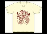 【支援価格】NEW FUZZ  Tシャツ アイボリー