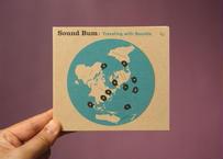 """サウンドバムのCD  """"Traveling with Sounds"""""""
