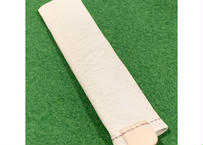 弟子屈産野生ヒグマ革L字パター用ヘッドカバー(筒タイプ)