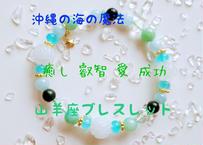 NO9      沖縄発 星座守護石 山羊座 ☆愛と癒し 叡智と成功へ導く