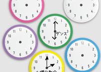 時計マグネットセット(6個入り)限定5セット
