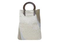 世界に一点だけ 西陣金襴 正絹 しずく紋様 バッグ